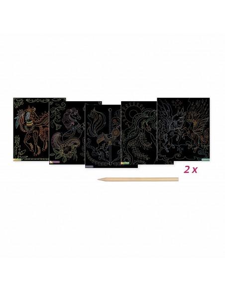 SYCOMORE - SCRATCH ART LICORNES - ARTISSIMO GRAND MODELE