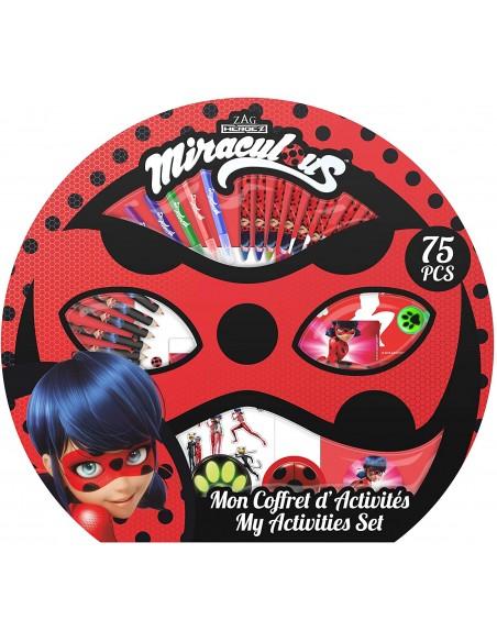 MIRACULOUS - MON COFFRET D'ACTIVITES 75 PCS