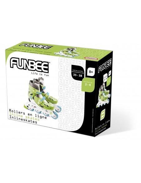 FUNBEE - ROLLERS EN LIGNE GARCON TAILLE 2